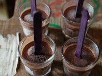 Small Chocolate Popsicles recipe