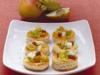 Small Pies with Pear and Cheese recipe
