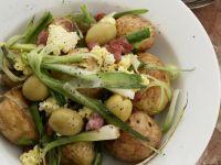 Small Potato and Soft Cheese Salad recipe
