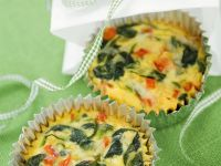 Small Quiche Bites with Spinach recipe