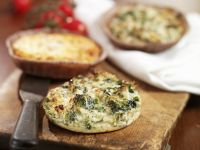 Small Quiches with Herbs and Vegetables recipe