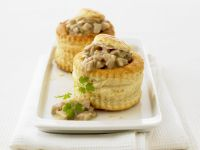 Small Rabbit Pies with Mushrooms recipe