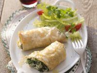 Small Spinach Strudel recipe