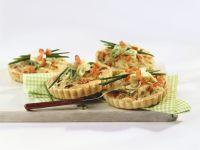 Small with Tuna and Scallion Quiches recipe