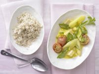 Smarter Asparagus and Veal Ragout recipe