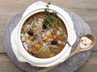 Smarter Barley Soup recipe