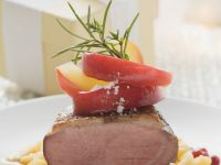 Smoked Duck Breast over Spaetzle recipe