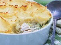 Smoked Fish and Potato Gratin recipe