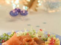 Smoked Fish Platter with Roe recipe