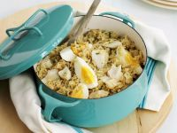 Smoked Haddock Rice Breakfast recipe