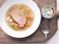 Smoked Ham and Vegetable Gelatin recipe