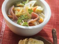 Smoked Pork and Cabbage Stew recipe