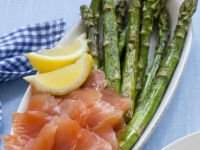 Smoked Salmon and Asparagus recipe