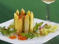 Smoked Salmon and Asparagus Tart recipe
