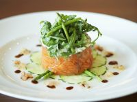 Smoked Salmon and Asparagus Tartlets recipe
