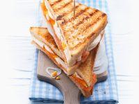 Smoked Salmon and Egg Toasties recipe
