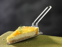 Smoked Salmon and Goat's Cheese Tart recipe