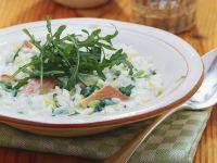 Smoked Salmon and Lemon Risotto recipe