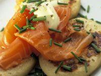 Smoked Salmon Blinis recipe