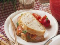Smoked Salmon Radish Sandwich recipe