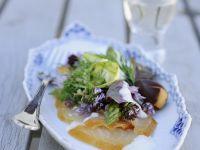 Smoked Salmon Salad with Fresh Herbs recipe