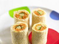 Smoked Salmon Sandwich Rolls recipe