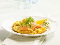 Smoked Salmon with Scrambled Eggs recipe