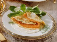 Smoked Trout and Herb Crêpes recipe