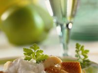 Smoked Trout with Creamy Sauce recipe