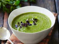 Smooth Spinach Veloute recipe