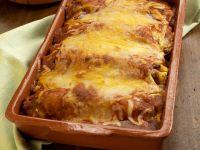 Smothered Chicken Enchiladas recipe