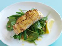 Snapper Fillets with Baby Spinach recipe