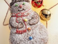 Snowman Cake recipe