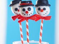 Snowman Cake Pops recipe