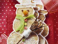 Snowmen Shortcrust recipe
