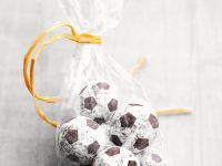 Soccer Ball Truffles recipe