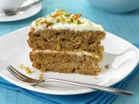 Soft Cheese and Carrot Sponge recipe