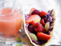Soft Cheese and Fruit Tortillas recipe