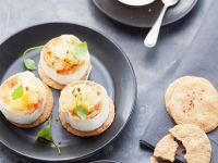 Soft Cheese and Relish Canapes recipe