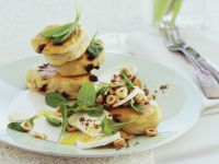 Soft Cheese and Spinach Pancakes recipe