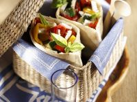 Soft Cheese and Veggie Lunch Pockets recipe