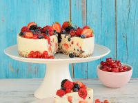 Soft Cheesecake with Mixed Berries recipe