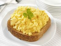 Soft Eggs on Toasted Bread recipe