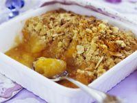Soft Fruit Crumble Dish recipe