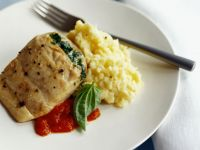 Sole Fillets with Spinach recipe