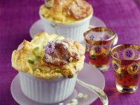 Soufflé with Apples and Lavender Honey recipe