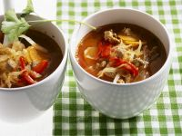 Soup with Cabbage and Lamb recipe