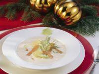 Soup with Smoked Fish and Horseradish recipe