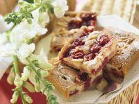 Sour Cherry Cake recipe