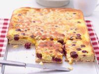 Sour Cream Cherry Cake recipe